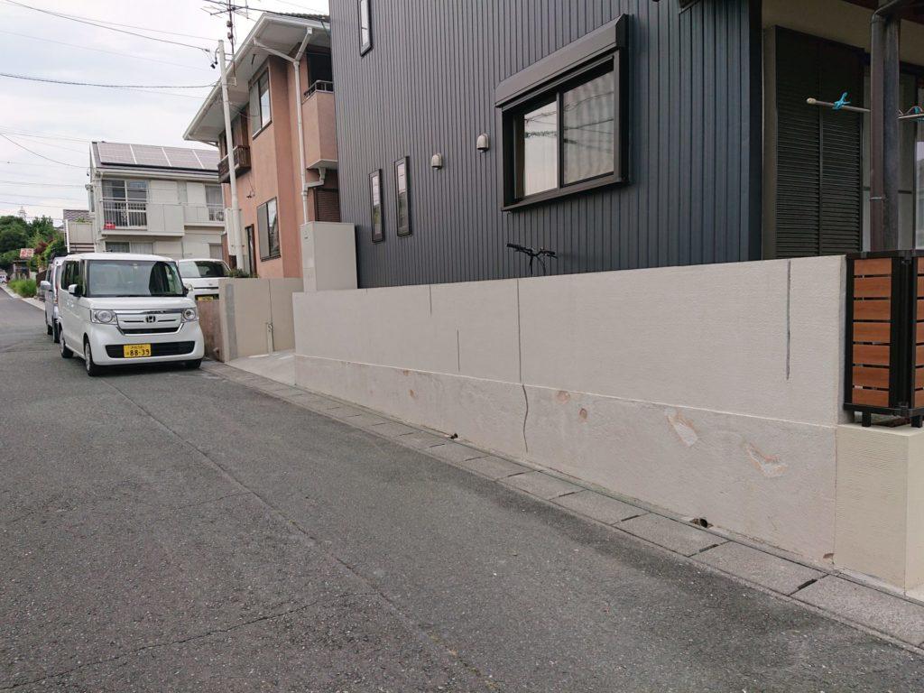 ブロック塀塗装!「お家の塗装・エクステリア・リフォーム・修繕のABeco-アベコ-」