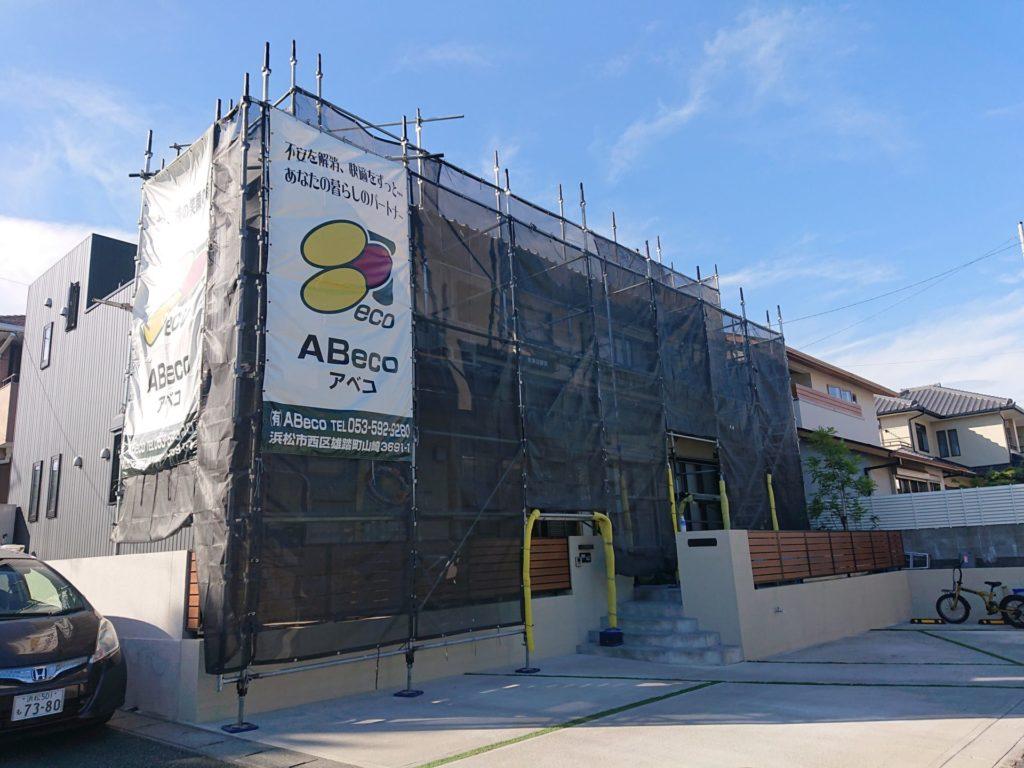 お盆休み前工事!「お家の塗装・エクステリア・リフォーム・修繕のABeco-アベコ-」